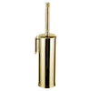 Cecilia wall toilet brush holder with Swarovski crystals