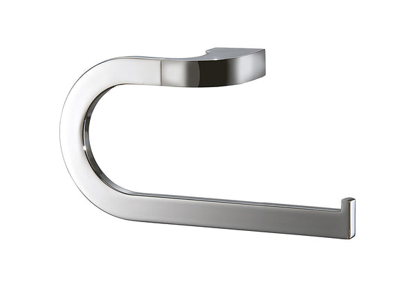 Chloe Polished chrome large towel ring. Hand towel holder