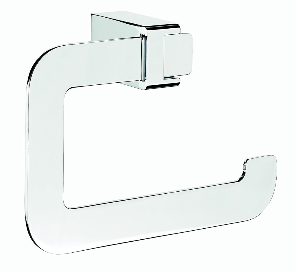 Alice polished chrome towel ring. Hand towel holder