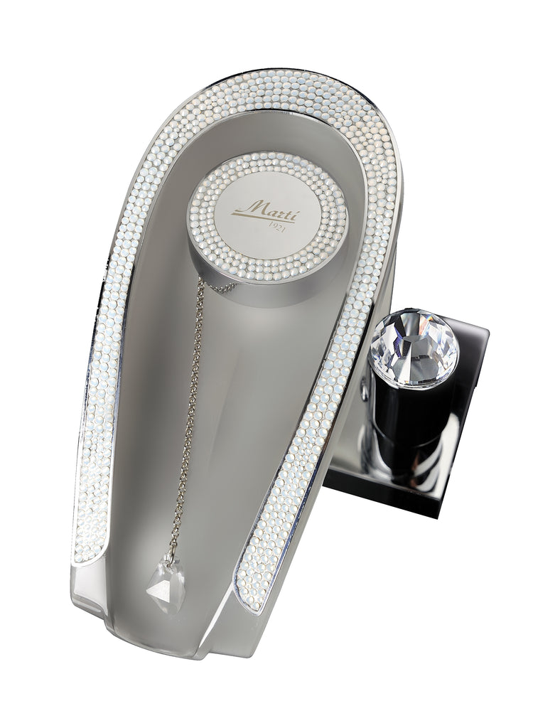 Niagara Glaciar Luxury waterfall bathroom sink faucet with Swarovski crystals