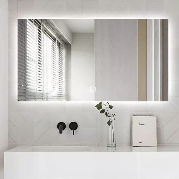 Royal LED mirror. Touch sensor on-off
