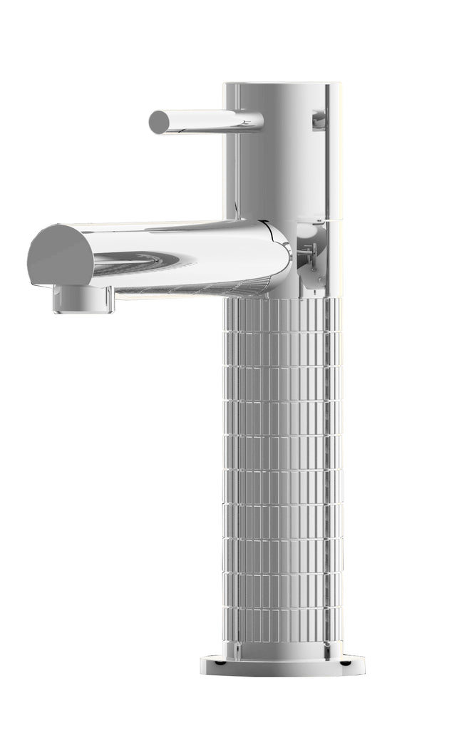 Vivienne single hole bathroom sink faucet.