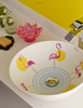 Flamingos bathroom vessel sink designed by David Delfin