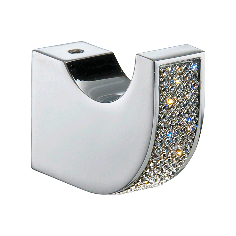 Cecilia towel hook with Swarovski crystals