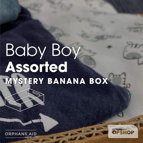 Baby Boy's Assorted Clothing Mystery Banana Box