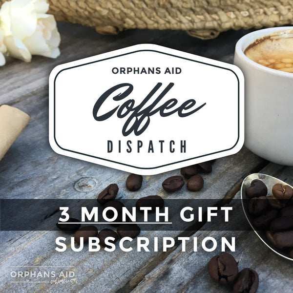Coffee Dispatch 3 Month Gift Subscription