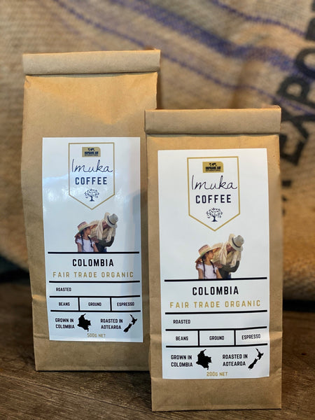 Fair Trade Colombia Coffee