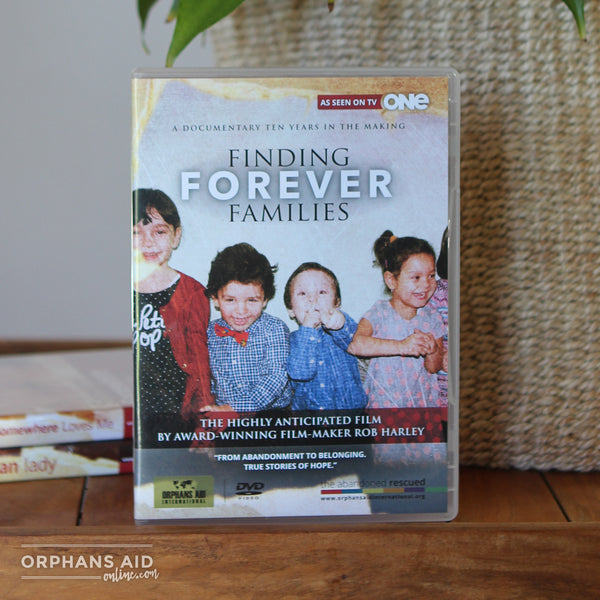 Finding Forever Families DVD