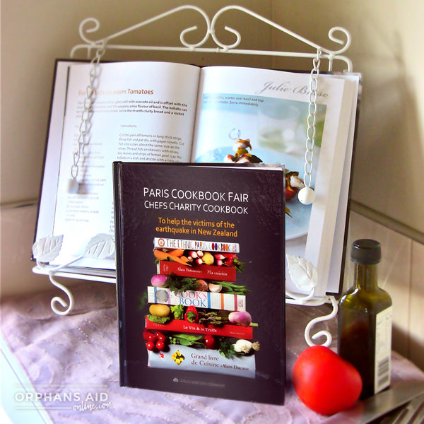 Paris Cook Book Fair Chefs Charity Cookbook
