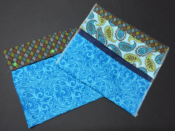 MamaBear Large Pad Wallet, wipes pouch, wet bag - Choose from Available Stock