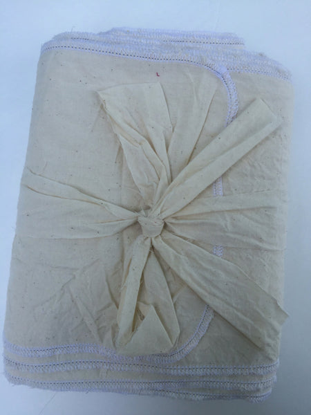 Belly Binding Wrap, Bengkung - Natural Unbleached Cotton