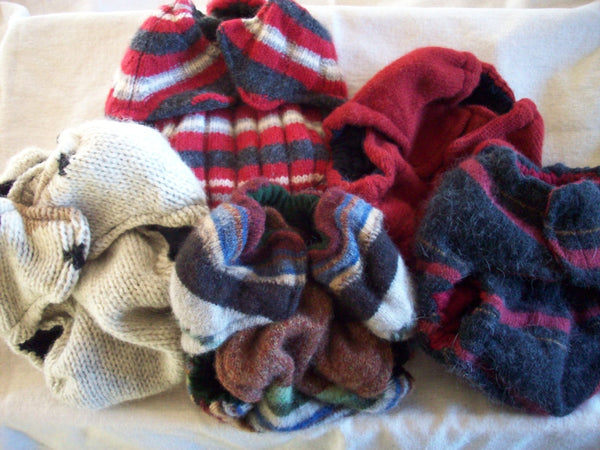Set of 5 MamaBear BabyWear One Size Wool Diaper Covers