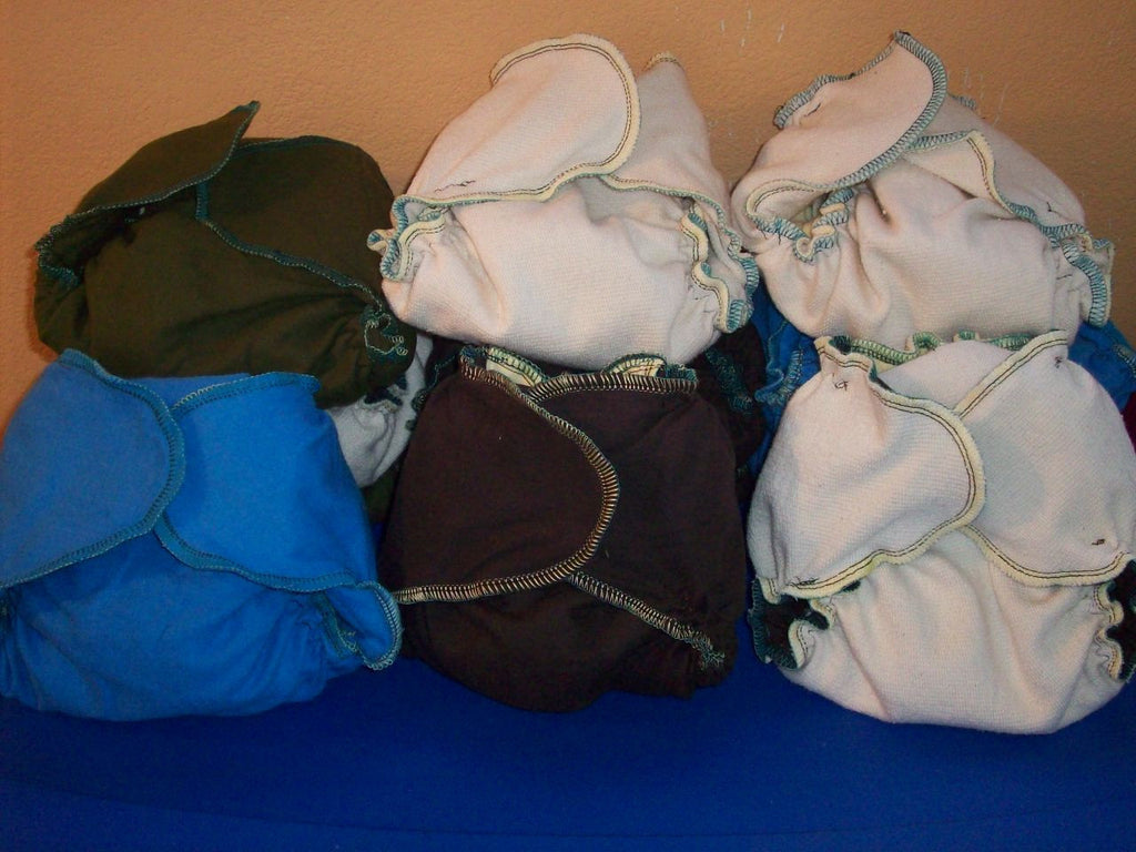 Super MamaBear Babywear One Size Fits All Complete Cloth Diapering Kit