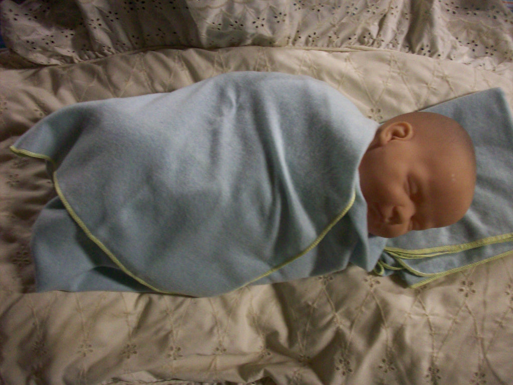 Wool Swaddling Blanket, Receiving Blanket, Lovey