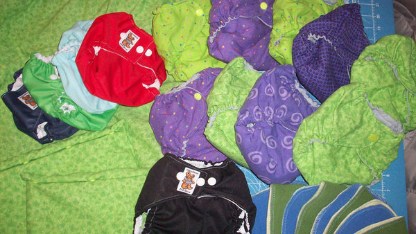 MamaBear Babywear One Size Fits All Complete Cloth Diapering Kit