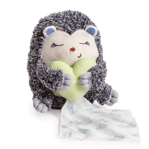 Infant Little Heartbeats Baby Comforter Breathing Soothing Sound & Vibration - Hedgehog cutebabyangels.co.uk