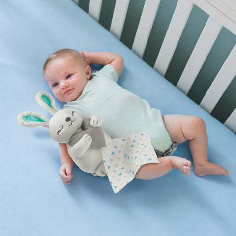 Infant Little Heartbeats Baby Comforter Breathing Soothing Sound & Vibration - Bunny  cutebabyangels.co.uk