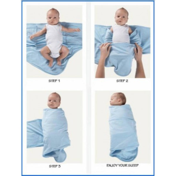 Original Miracle Blanket Swaddle 100 Cotton Baby Swaddling Wrap