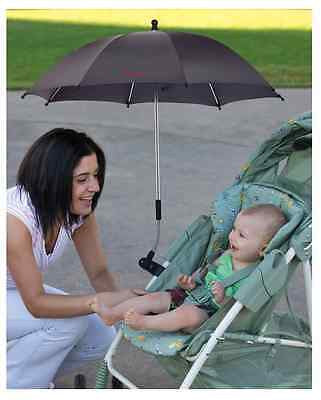 Diono Pram Buggy Baby Carrier Parasol UV Ray Shade Sun Protection Umbrella Black - Cute Baby Angels Ltd