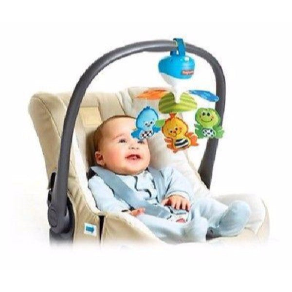 Tiny Love Take Along Tiny Mobile - Cot & Travel Lullaby Player - Blue - Cute Baby Angels Ltd
