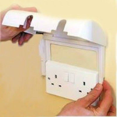 Clippasafe Double Electic Socket Cover Box - Cute Baby Angels Ltd