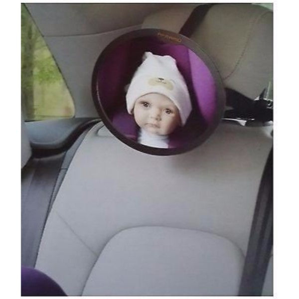 Apramo Back Seat Mirror - Adjustable Baby Rear Facing Car Visor