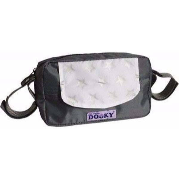 Dooky Travel Buddy Baby Wipes Dispenser Bag - Silver Stars - Cute Baby Angels Ltd
