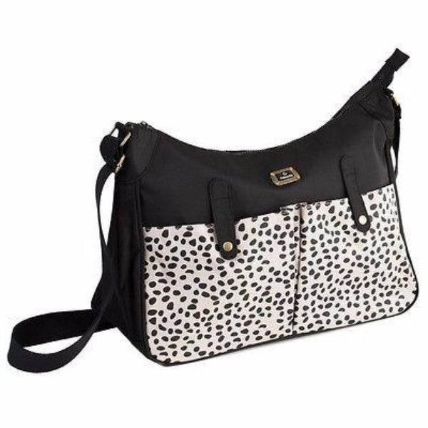 Caboodle Everyday Baby Changing Bag - Black/Cream Pocket - Cute Baby Angels Ltd