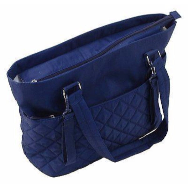 Summer Infant Quilted Tote Baby Nappy Changing Bag - Cobalt Blue - Cute Baby Angels Ltd