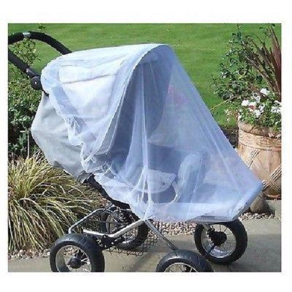 Clippasafe Universal Insect Net - Black or White Mesh Cover - Cute Baby Angels Ltd