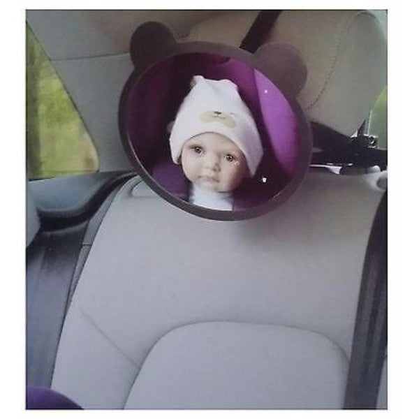 Apramo Back Seat Mirror - Adjustable Baby Rear Facing Car Visor - Cute Baby Angels Ltd