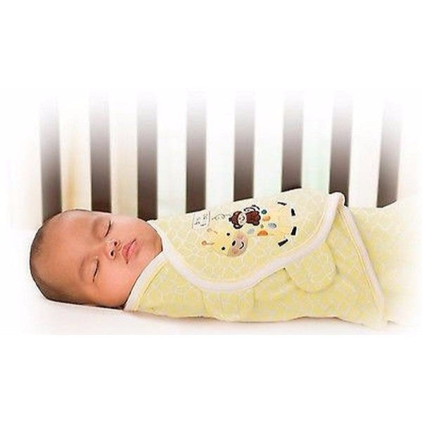 Summer Infant Swaddleme Purelove Giraffe – 0-3 Mohths Baby Wrap - Cute Baby Angels Ltd