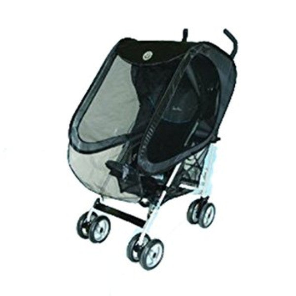 Prince Lionheart Pushchair Pop 'n' Play Raincover - Black