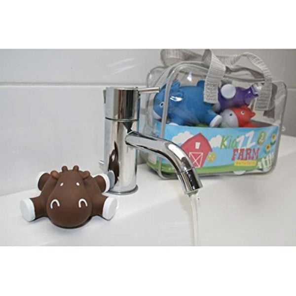 KidzzFarm Betsy Cow Bathtoys - Baby & Toddler Tub Time Play Set cutebabyangels.co.uk