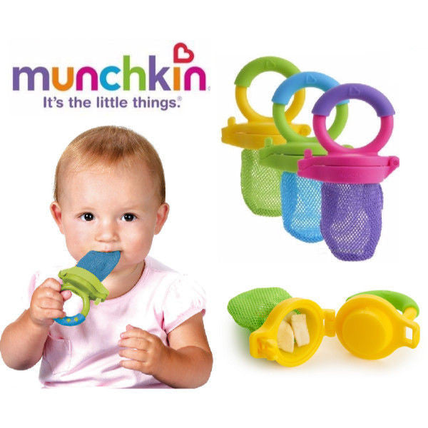 Munchkin Fresh Food Baby Feeder & Theeter - 3 Colours  cutebabyangels.co.uk
