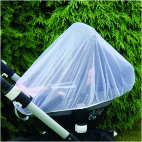 Clippasafe Insect Net for Infant Car Seats- White cutebabyangels.co.uk
