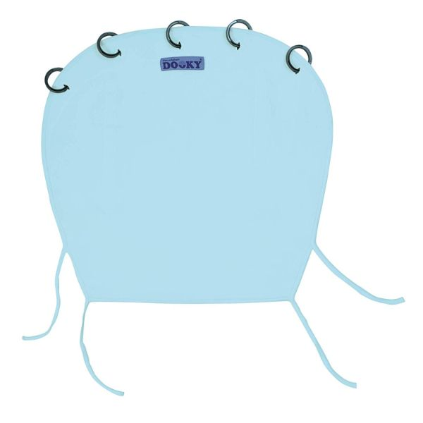 Dooky Shade Baby Blue - Universal Sun & Sleep Cover SPF 40+ cutebabyangels.co.uk Free Shipping