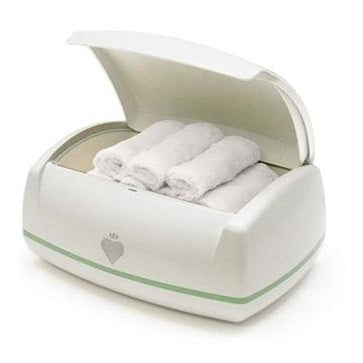 Prince Lionheart Warmies Wipes Warmer + 4 Eco-Friendly Reusable Bamboo Cloths  cutebabyangels.co.uk