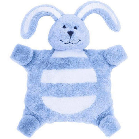 Sleepytot Bunny Baby Comforter Toy - Large Blue cutebabyangels.co.uk