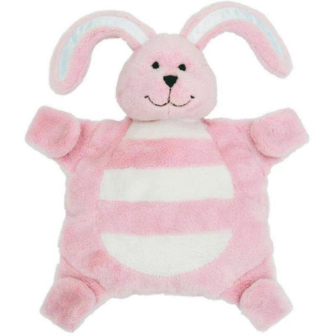 Sleepytot Bunny Baby Comforter Toy - smalll pink cutebabyangels.co.uk