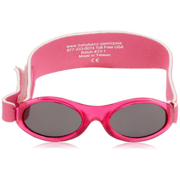 Kidz Banz Adventure Sunglasses Pink 2-5 Years – Wraparound Design cutebabyangels.co.uk