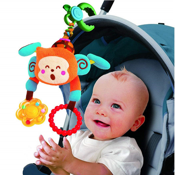 Bkids Pull N' Rattle Stroller Toy Bebee Baby Activity Mobile black friday cutebabyangels.co.uk