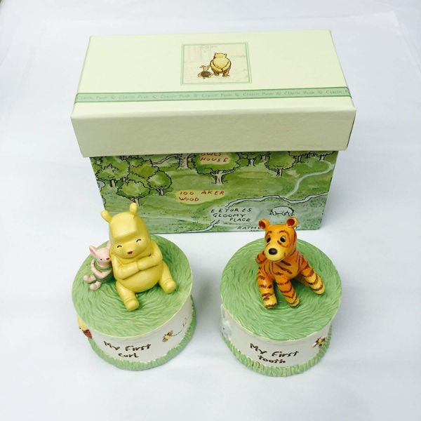 Winnie the Pooh Baby Tooth & Curl Infant Gift Set - Keepsake Boxes  shop @ ww.cutebabyangels.co.uk Free Shipping