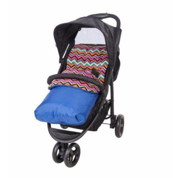 Red Kite Universal Fleece Cosytoes & Pram Liner – Blue Aztec - Cute Baby Angels Ltd