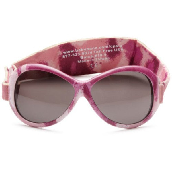 Kidz Banz Retro Sunglasses Oval Pink Diva  2-5 Years – Wraparound Design cutebabyangels.co.uk
