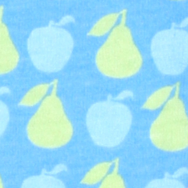 Baby Studio Swaddlewrap Blue Fruit – Safe Sleep Infant swaddle – Small Newborn to 3 months