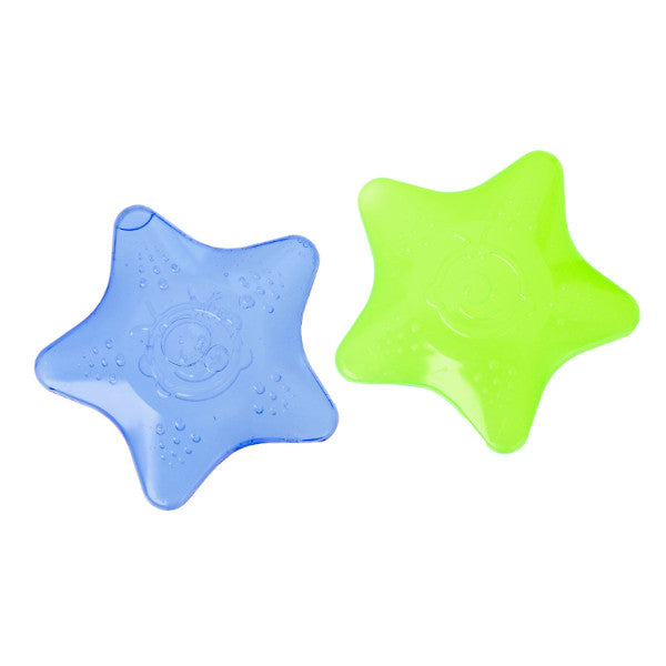 BPA-FREE-Water-filled Teethers-Baby Teething Soother & Gum Massager-2 Pack