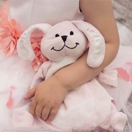 Sleepytot Bunny Baby & Toddler Comforter Plush Toy - Small Pink