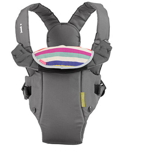 Infantino Breathe Vented Baby Carrier - Grey cutebabyangels.co.uk