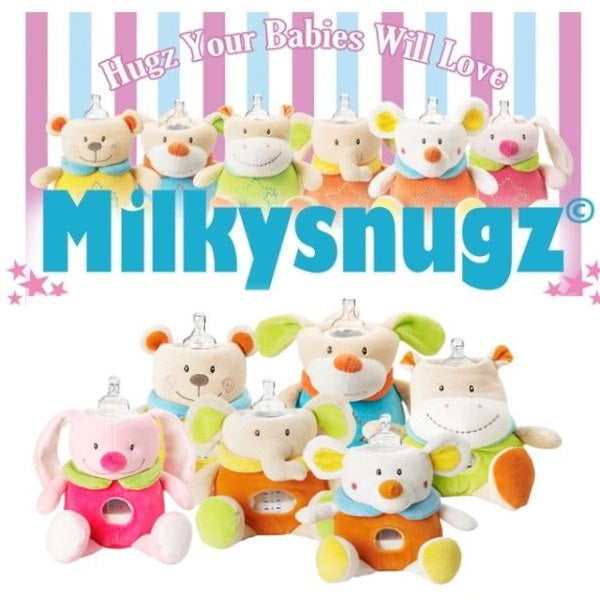 MilkySnugz Milk Bottle Comforter - Feeding Companion